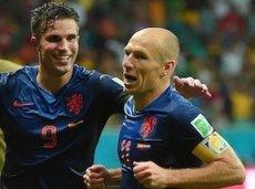 Роббен и ван Перси постараются закрепить успех своей сборной