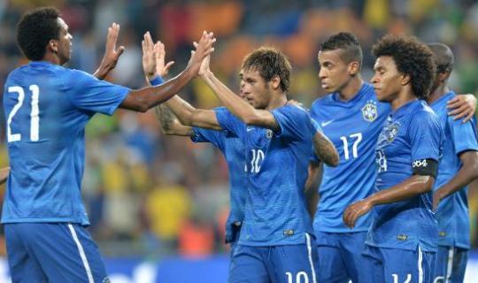 Бразилия уверенно победит