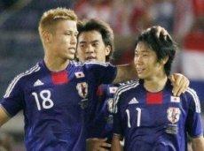 Япония показала в первом туре больше, чем Греция