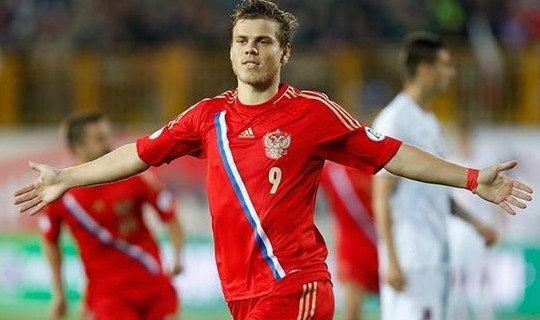 Кокорин станет лучшим бомбардиром сборной России в Бразилии