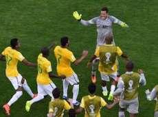 «Вратарская игра и штанга вывели сборную Бразилии в четвертьфинал»