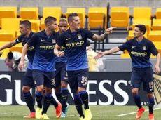 Футболисты «Манчестер Сити» в двух последних матчах забили девять мячей