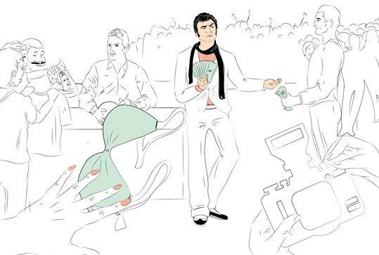 Фотокарточка: Хамес Родригес помогает мне заработать на полет в Россию первым классом