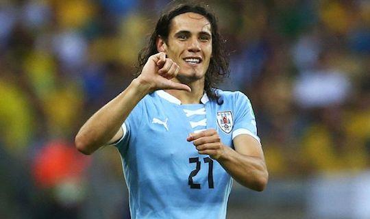 Кавани ничем не смог помочь сборной Уругвая на ЧМ-2014 в отсутствие Луиса Суареса