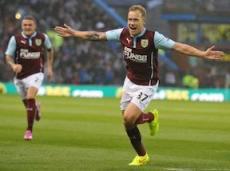 Скот Арфилд забил единственный гол в составе «Бернли» в ворота «Челси» (1:3)