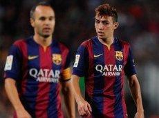 Мунир Эль-Хаддади отличился в первом матче за «Барселону»