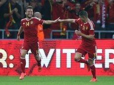 Бельгийцы разгромили Андорру без Эдена Азара, который ушиб палец