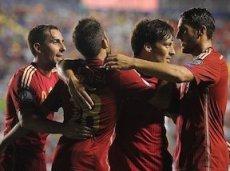 Все пять голов в ворота сборной Македонии забили разные футболисты