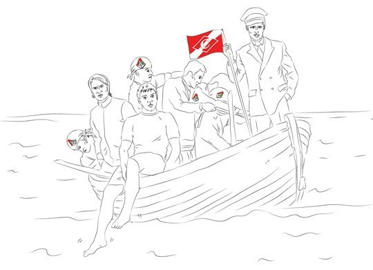 Я узнал, кто раскачивает «красно-белую» лодку