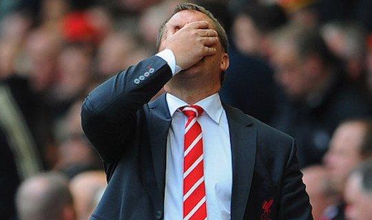 """""""Ливерпуль"""" в последнее время выглядит не лучшим образом"""