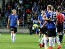 """7 из 8-ми матчей Эстонии в этому году были """"низовыми"""""""