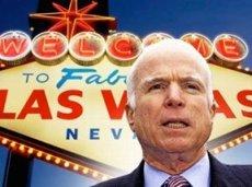 Cенатор от республиканцев Джон Маккейн заявил в эфире радиостанции EPSN, что выступает за всестороннее изучение вопроса о легализации букмекерского бизнеса на всей территории США
