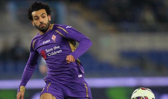 Мохамед Салах в пяти матчах за флорентийцев забил три гола