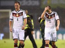 Новая немецкая сборная пока не впечатляет