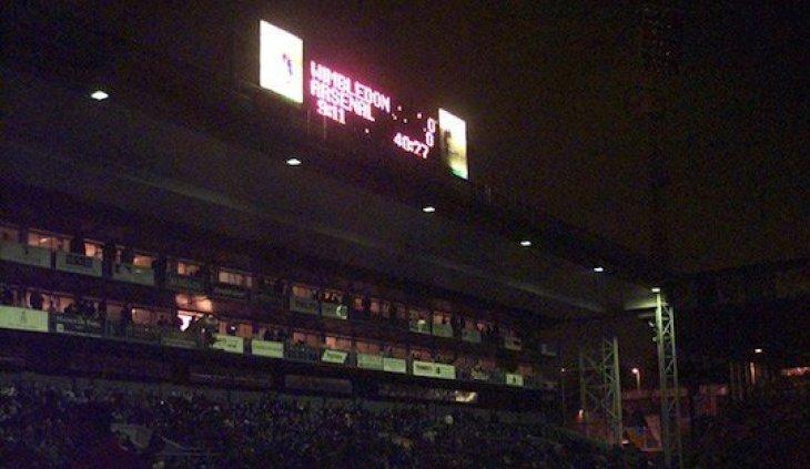 Преступник, который погасил свет на стадионе на матче АПЛ в 1997-м, спустил всю прибыль в казино