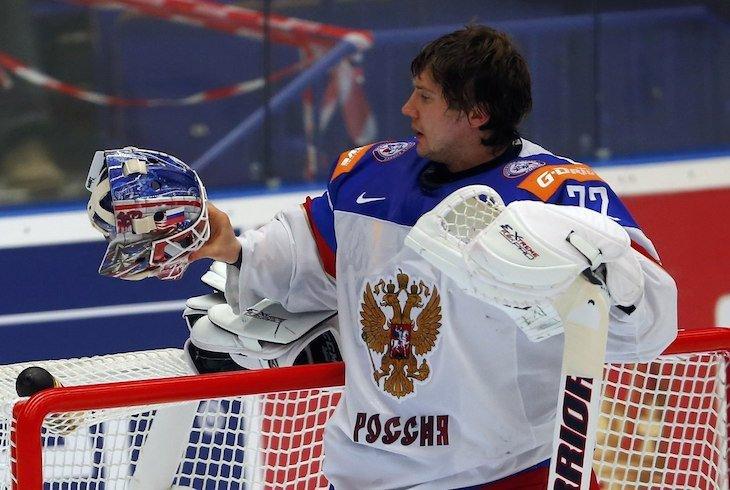 Сергей Бобровский еще не набрал форму