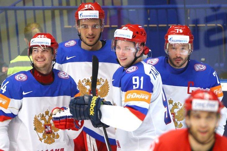 Российской сборной нужно собраться