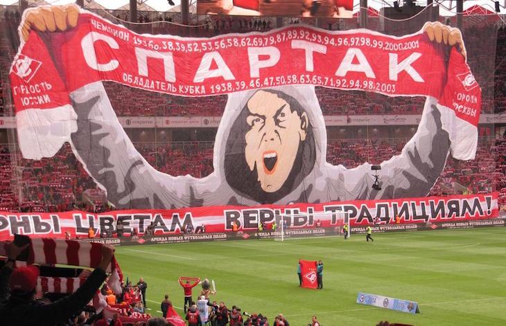 В матче с ЦСКА «Спартаку» не помогла и такая поддержка болельщиков