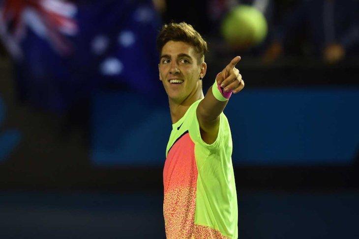 Коккинакис рвется в теннисную элиту