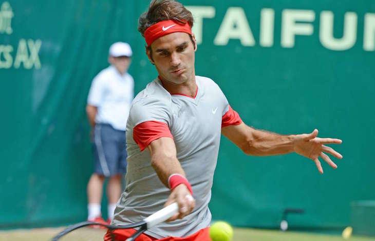 Федерер готовится к любимому турниру