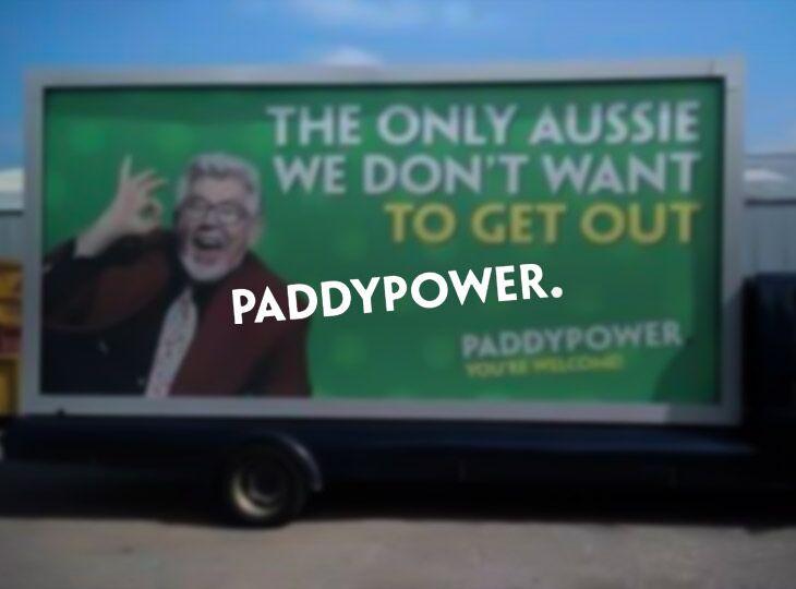Paddy Power всегда славилась эксцентричными выходками