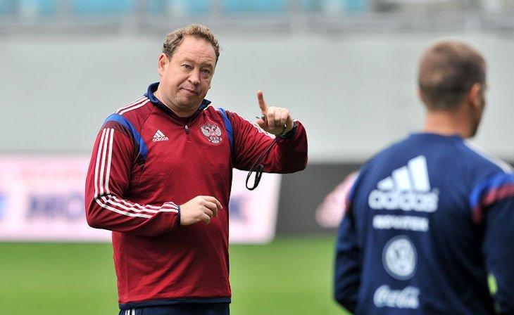 Леонид Слуцкий успешно начал карьеру в сборной