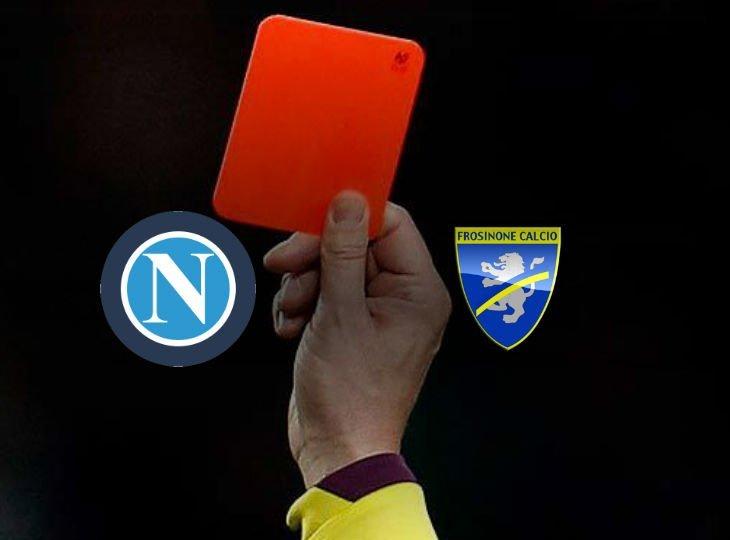 Игрок «Фрозиноне» Гори был удален на 13 минуте матча