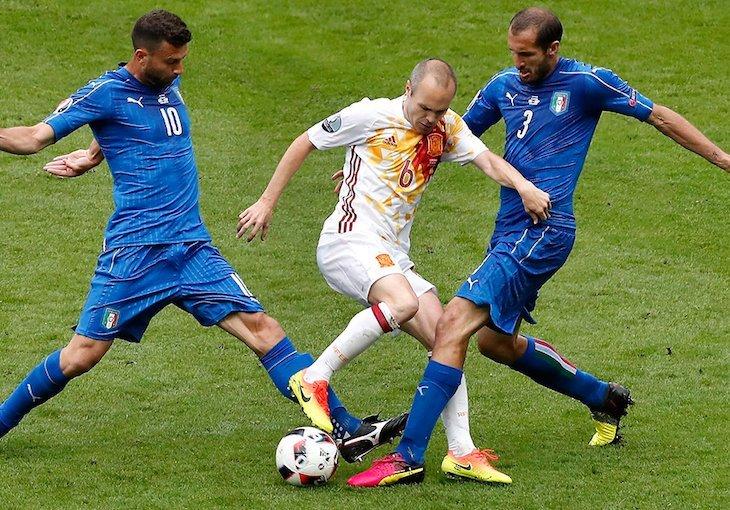 Италия и Испания впервые сыграли в 1920 году