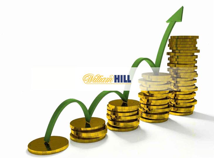 Выручка онлайн-сегмента William Hill за первые три квартала 2017 года выросла на 12%