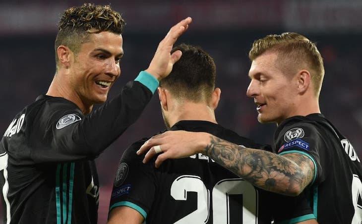 Мадридцы на пути к третьей подряд победе в Лиге чемпионов