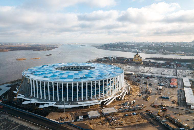 Администрация Нижнего Новгорода выбрала модель стадиона ЧМ-2018