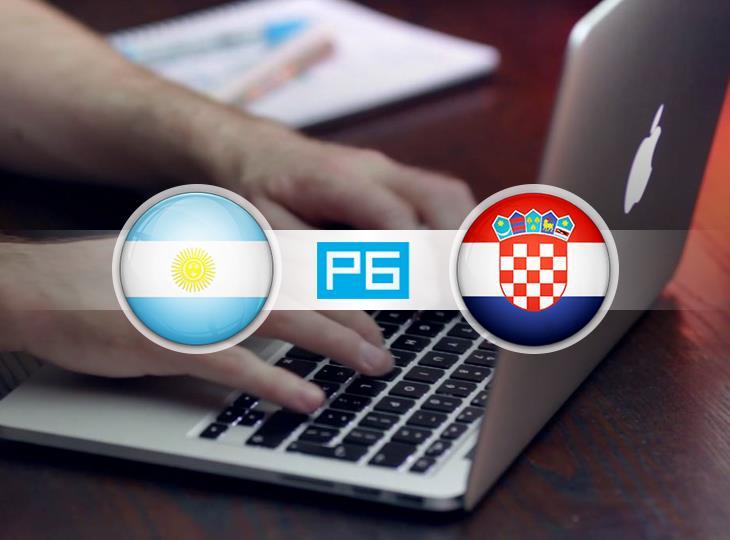 Текстовая трансляция матча Аргентина - Хорватия