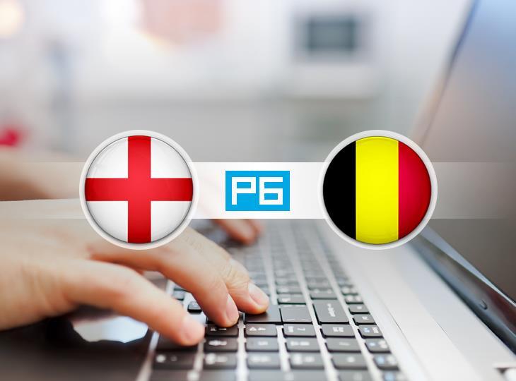 Текстовая трансляция матча Англия - Бельгия