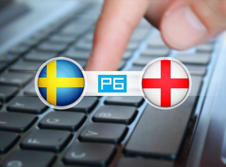 Текстовая трансляция матча Швеция - Англия