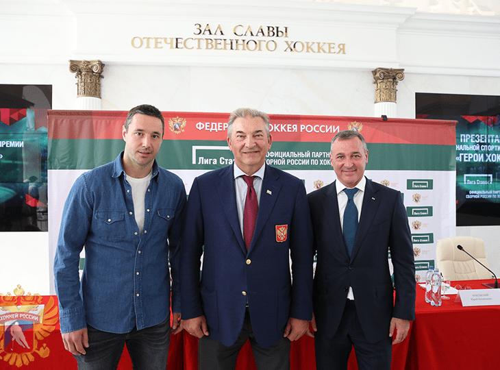 Илья Ковальчук, Владислав Третьяк и Юрий Красовский
