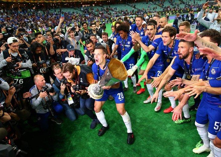 """""""Челси"""" - победитель Лиги Европы сезона-2018/19"""