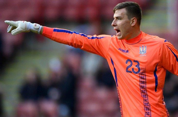 Вратарь Андрей Лунин - главная звезда молодежной сборной Украины