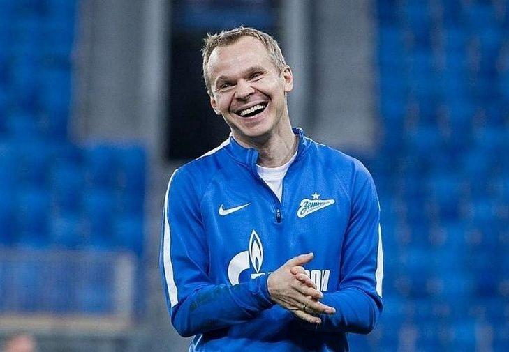 Александр Анюков может быть заявлен играющим тренером «Зенита»