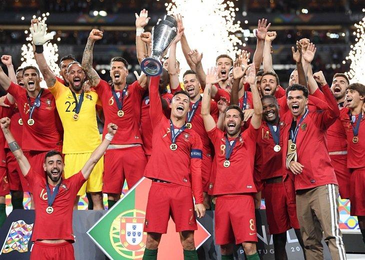 Сборная Португалии - первый победитель Лиги наций в истории
