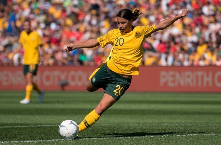 Лучший бомбардир женской сборной Австралии Сэм Керр