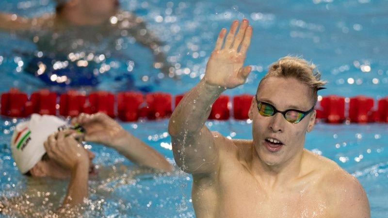 17-летний россиянин Минаков завоевал серебро