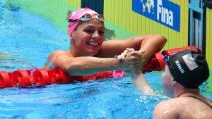 Плавание. Ефимова выиграла бронзу ЧМ на дистанции 50 м брассом