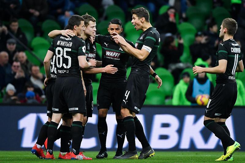 """""""Краснодар"""", проигрывая 0:2, одержал волевую победу над """"Уфой"""""""
