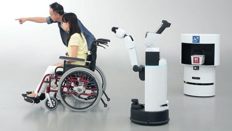Роботы, которые будут работать на Олимпиаде-2020