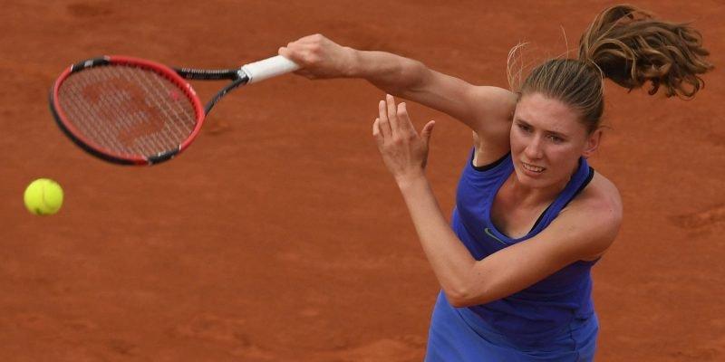 Россиянка Александрова проиграла Халеп на турнире WTA в Цинциннати