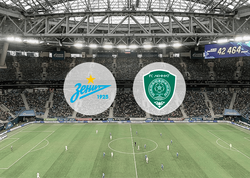 «Зенит» — «Ахмат»: котировки букмекеров на матч Российской Премьер-Лиги