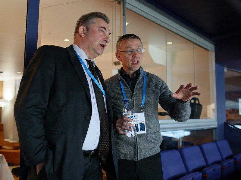 Ларионов стал советником штаба сборной России
