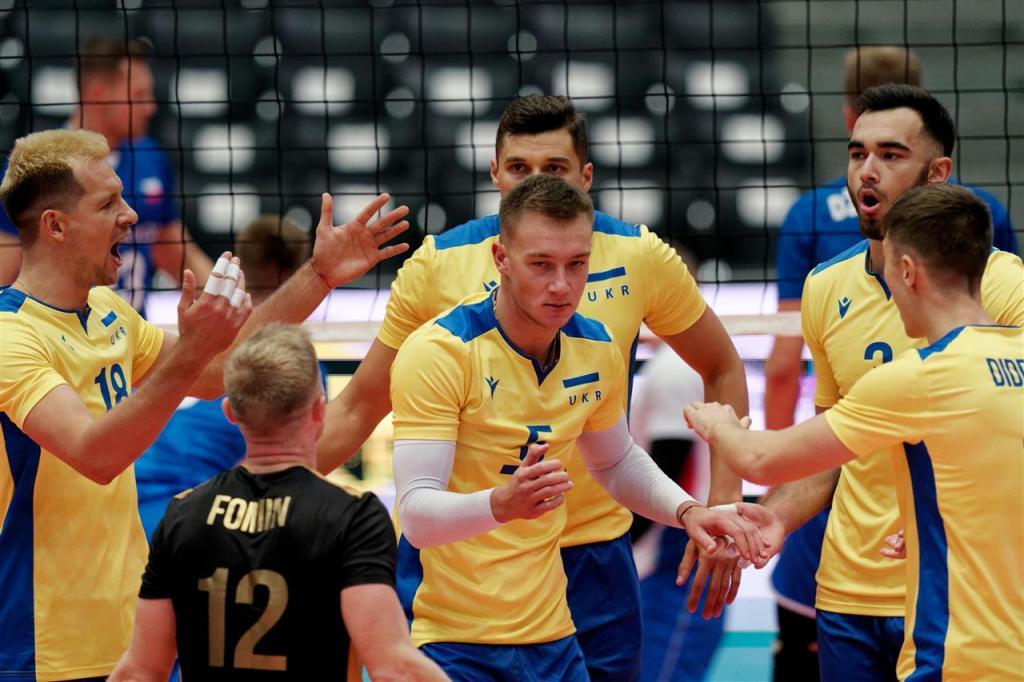 Радость сборной Украины