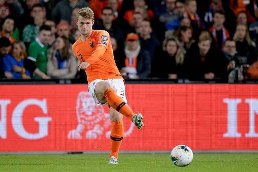 Де Лигт стал рекордсменом сборной Нидерландов