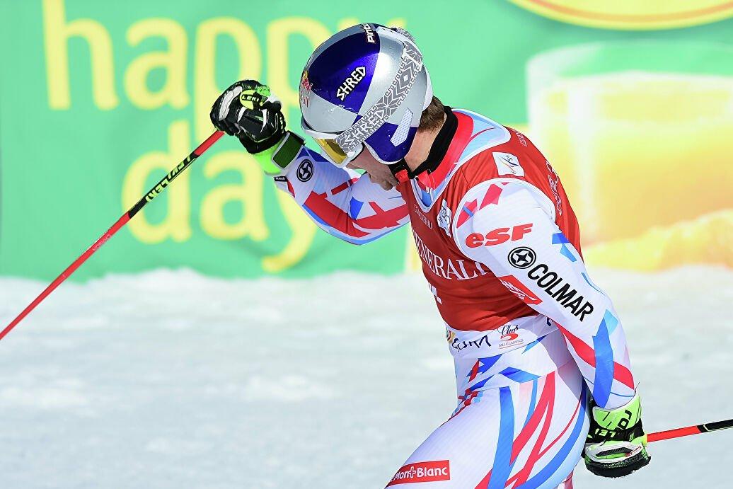 Пентюро выиграл в гигантском слаломе на этапе Кубка мира в Австрии